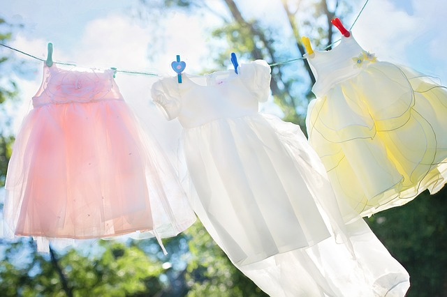 prádelní šňůra na šaty