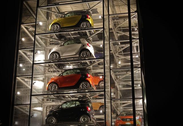 auto věž