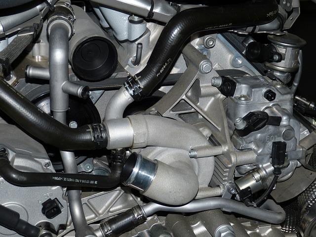 motor v autě