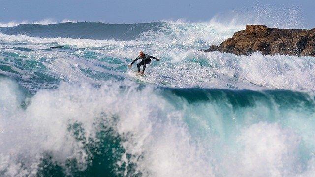 surfování a vlny