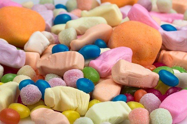 sladké bonbóny